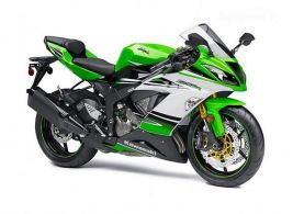 2015 Kawasaki Ninja ZX-6R ABS 30th Anniversary Edition