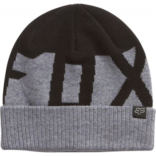 FOX  RIDGE WOOL BEANIE [BLK]