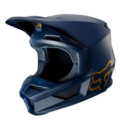 FOX V1 NAVY/GOLD SE HELMET [NVY/GLD]