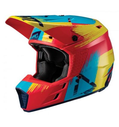 Leatt CASCA COPII  GPX 3.5 JR V19.1 RED/LIME  ECE